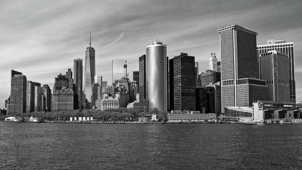 Photograph - Nyc From The Staten Island Ferry by Frank Morales Jr