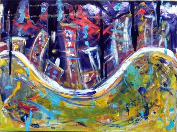 Wall Art - Painting - Nyc Impressions 4 by Jason Gluskin
