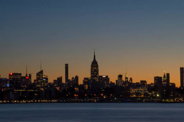 Wall Art - Photograph - Nyc - Just Before Sunrise by Bill Cannon