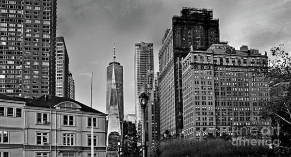 Photograph - Nyc - Manhattan - One World Trade Center From The Battery Park by Carlos Alkmin