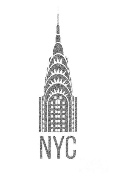 Digital Art - Nyc New York City Graphic by Edward Fielding