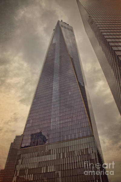 Wall Art - Photograph - Nyc - One World Trade Center N2 by Mary Machare