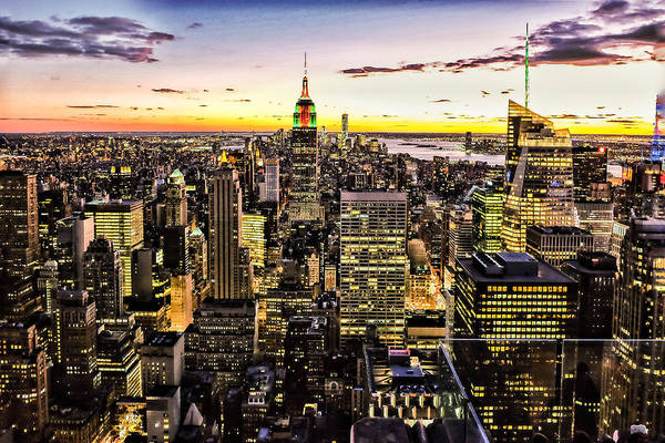 Roof Top Photograph - Nyc Rooftop by Britten Adams