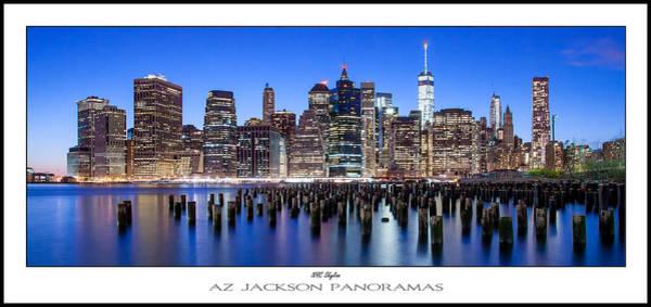 East River Photograph - Nyc Skyline Poster Print by Az Jackson