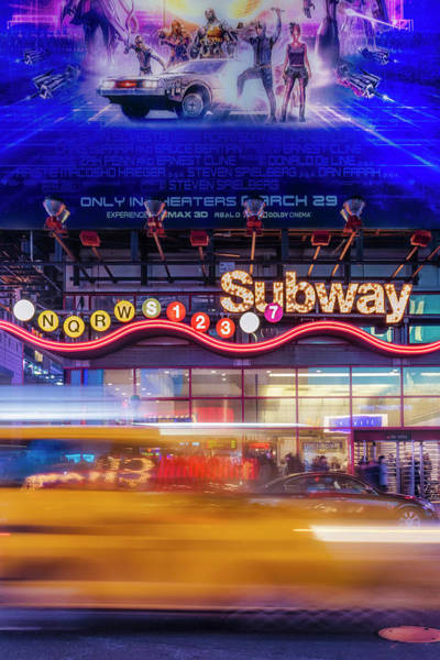 Photograph - Nyc Subway Stations by Susan Candelario