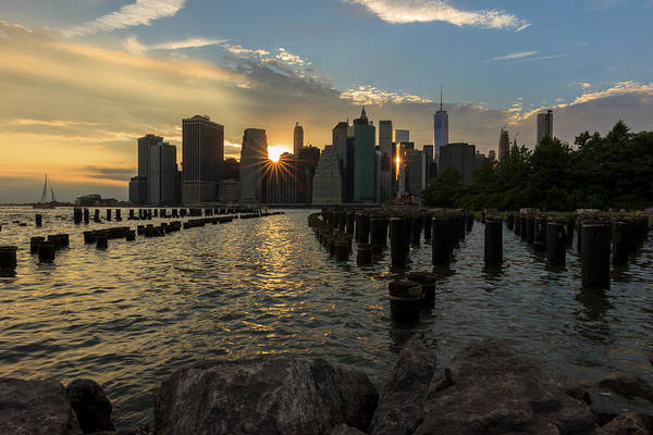 Photograph - Nyc Sunset by Anthony Fields