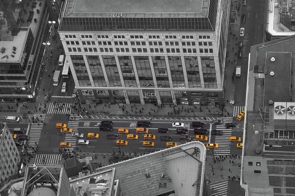 Photograph - Nyc Taxis Everywhere by Clint Buhler