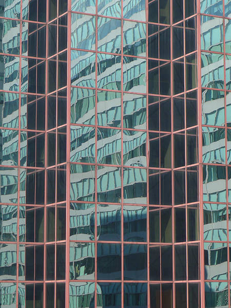 Photograph - Nyc - Urban Reflections by Richard Reeve