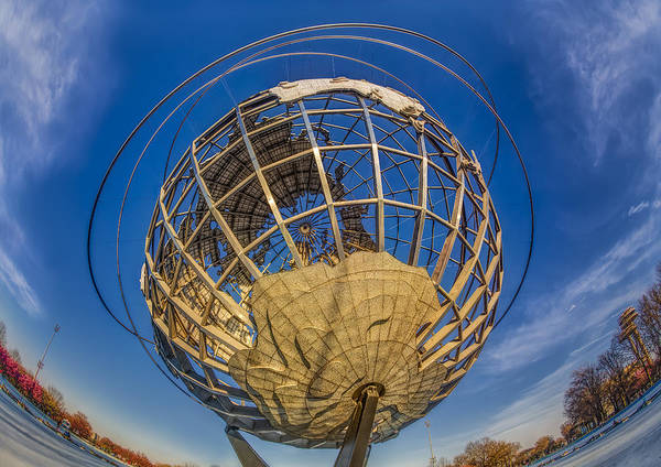 Wall Art - Photograph - Nyc Worlds Fair Unisphere by Susan Candelario