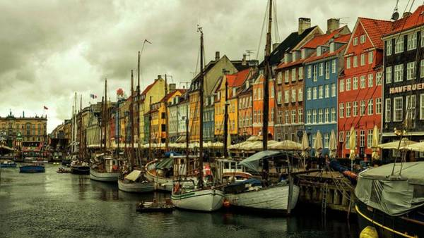 Photograph - Nyhavn In Copenhagen by Rob Hemphill