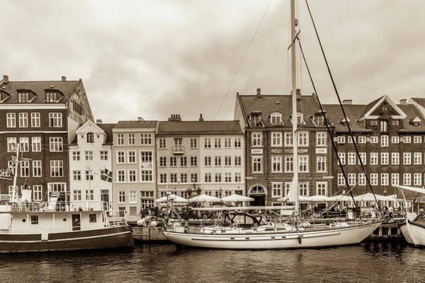Port City Photograph - Nyhavn - New Harbor by W Chris Fooshee