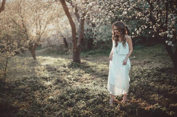 Photograph - Nymph In The Spring Garden by Vit Nasonov