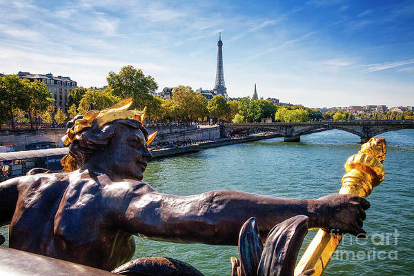 Photograph - Nymph Over The Seine by Scott Kemper