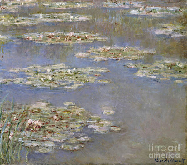 Giverny Painting - Nympheas by Claude Monet