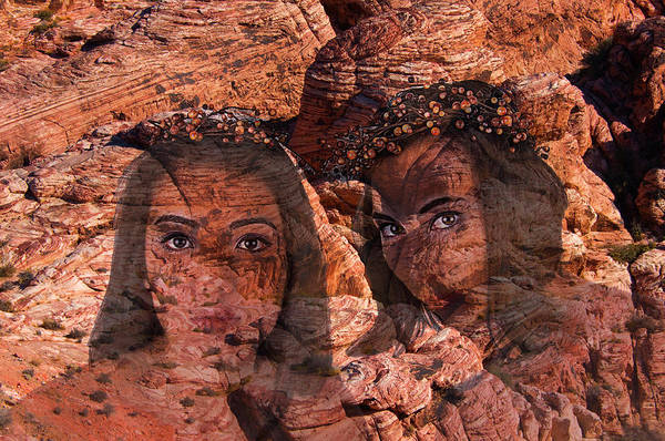 Photograph - Nymphs Of The Red Rocks by Richard Henne