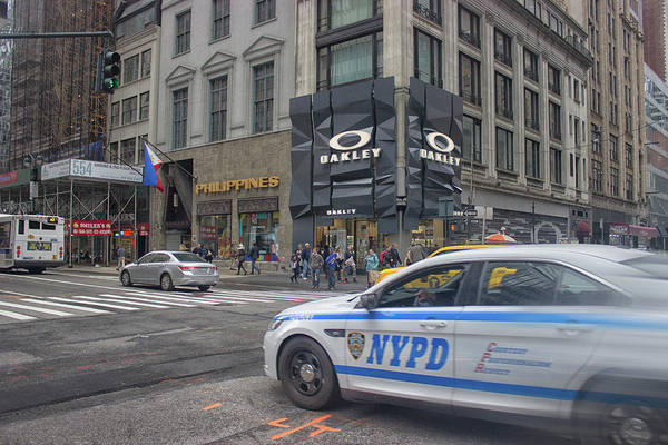 Law Enforcement Photograph - Nypd by Martin Newman