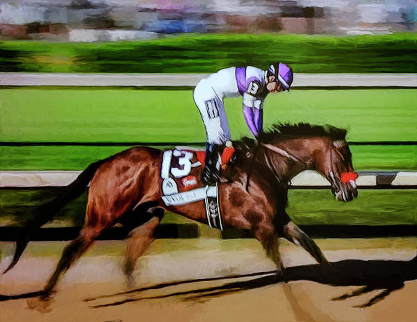 Painting - Nyquist 2 by Rick Mosher