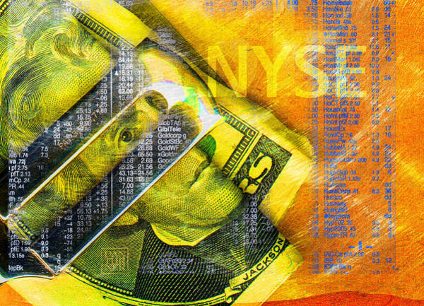 Wall Art - Digital Art - Nyse by Dan Turner