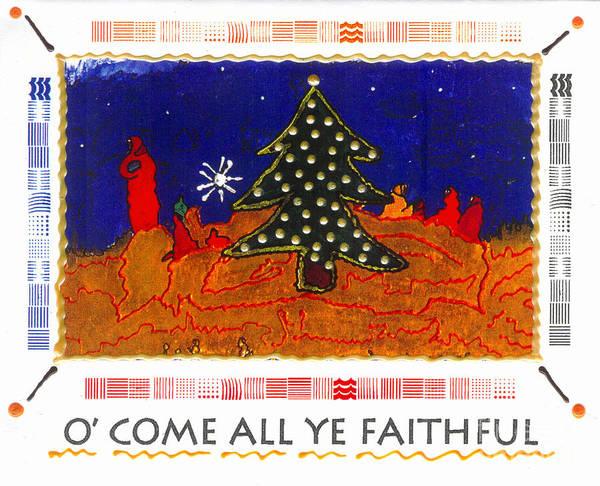 Wall Art - Photograph - O' Come All Ye Faithful by Angela L Walker