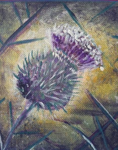 O' Flower Of Scotland Art Print
