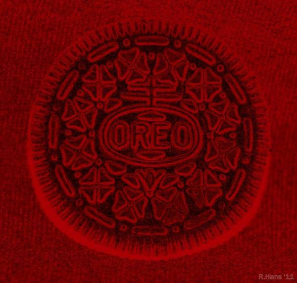 Nabisco Photograph - O R E O In Red by Rob Hans