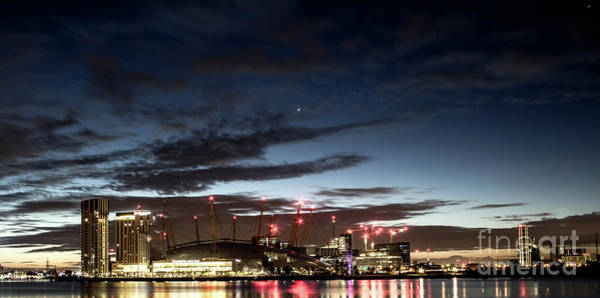 Photograph - London O2 Arena. by Nigel Dudson