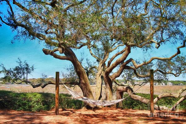 Painting - Oak And Hammock by Deborah Benoit