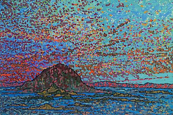 Oak Harbor Painting - Oak Bay Nb June 2015 by Michael Graham
