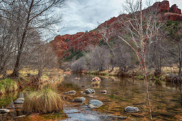 Photograph - Oak Creek At The Base Of Cathedral Rock by Belinda Greb