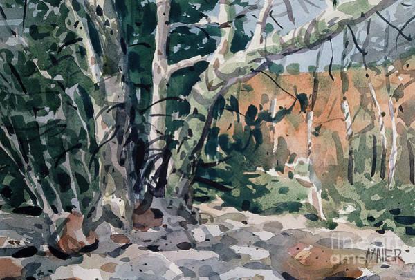 Oak Creek Canyon Painting - Oak Creek Canyon by Donald Maier
