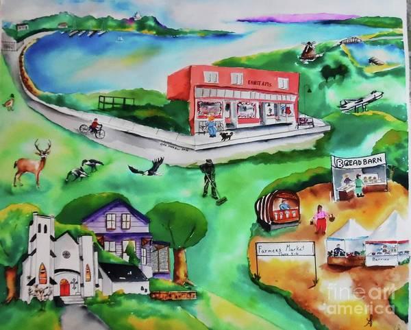 Oak Harbor Painting - Oak Harbor Wa by Camille Brighten