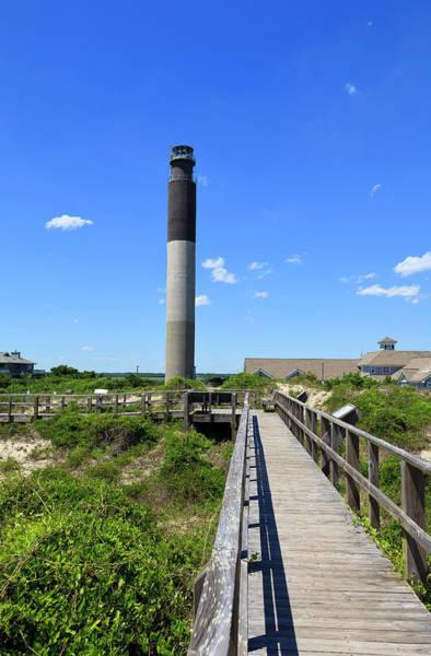 Photograph - Oak Island Lighthouse In Nc by Jill Lang