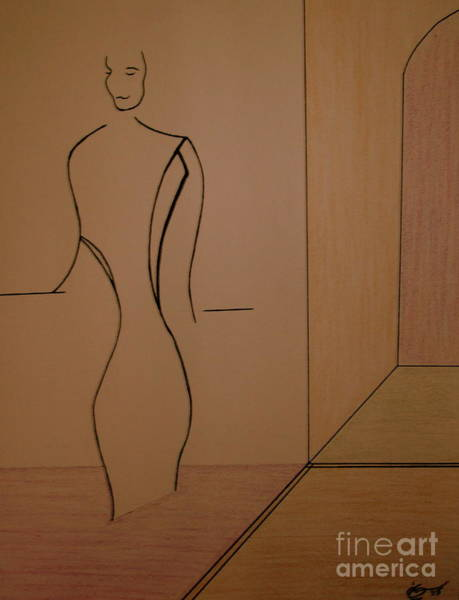 Modal Jazz Wall Art - Drawing - Oak Room At The Plaza by Bill OConnor