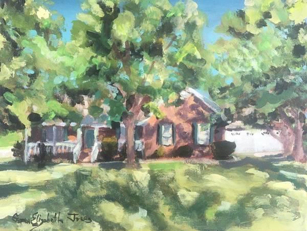 Wall Art - Painting - Oak Velley by Susan Elizabeth Jones