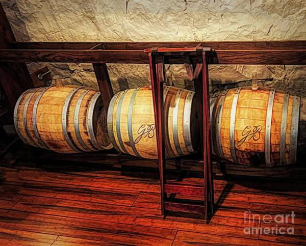 Photograph - Oaken Barrels by Luther Fine Art