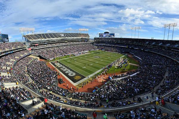 Oakland Raiders O.co Coliseum Art Print