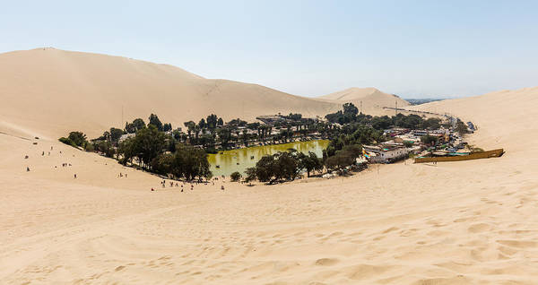 Photograph - Oasis De Huacachina by Thomas M Pikolin
