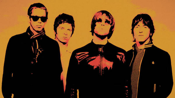 Champagne Mixed Media - Oasis Pop Art by Dan Sproul
