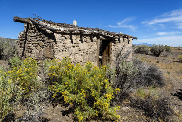 Photograph - Oasis Stone House by Robert Potts