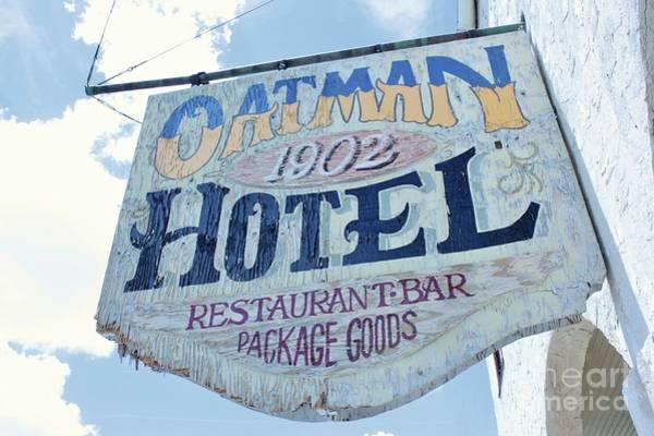 Photograph - Oatman Hotel by Marcia Breznay