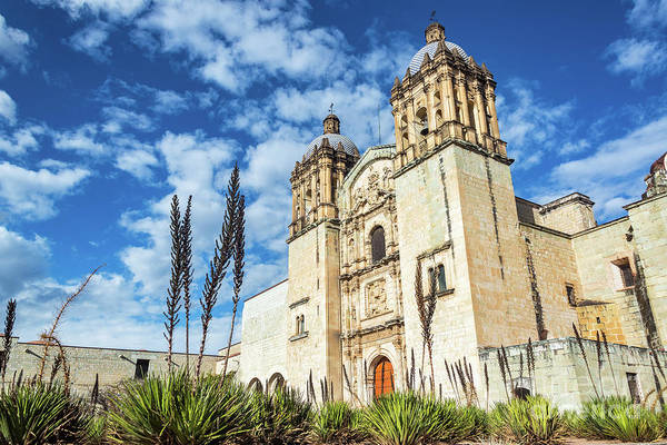 Wall Art - Photograph - Oaxaca Church And Beautiful Sky by Jess Kraft
