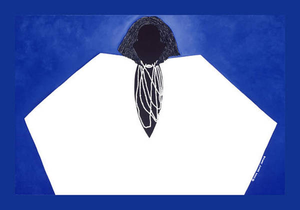 Wall Art - Painting - Obatala by Synthia SAINT JAMES