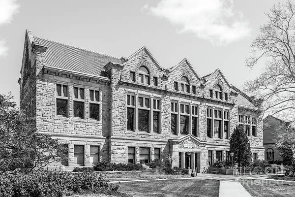 Photograph - Oberlin College Carnegie Building by University Icons
