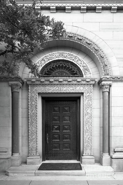 Photograph - Oberlin College Cox Administration Building Doorway by University Icons