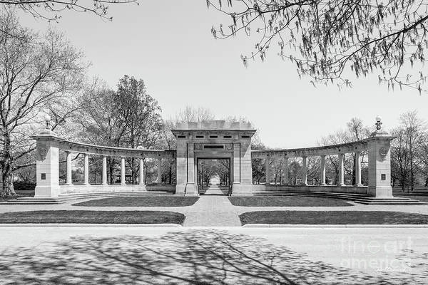 Photograph - Oberlin College Memorial Arch On Tappan Square by University Icons