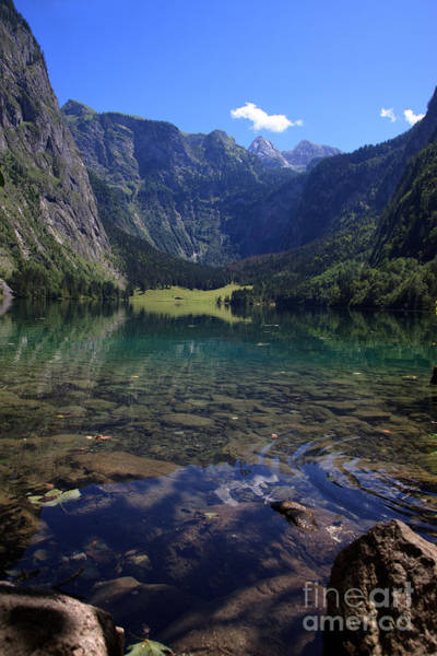 Clear Water Photograph - Obersee by Nailia Schwarz