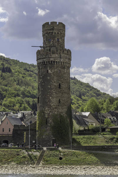 Wall Art - Photograph - Oberwesel Fortification Tower 01 by Teresa Mucha