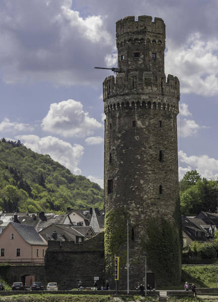 Wall Art - Photograph - Oberwesel Fortification Tower 02 by Teresa Mucha