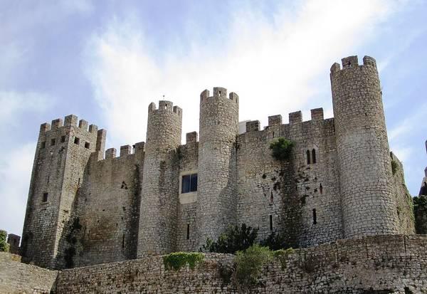 Photograph - Obidos Castle IIi Portugal by John Shiron