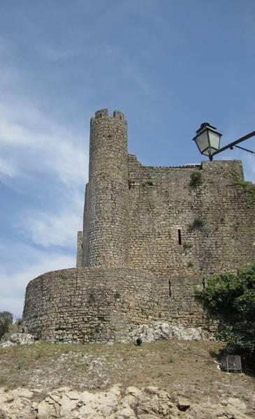 Photograph - Obidos Castle Portugal by John Shiron